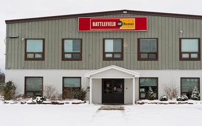 Battlefield Equipment Rentals - Sault Ste. Marie Location