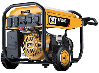 Cat® RP6500E Portable Gas Generator