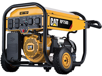 Cat® RP7500E Portable Gas Generator