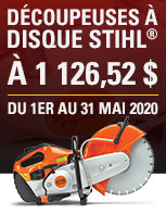 stihl cut off may special - FR