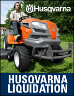 Husqvarna Liquidation Sale