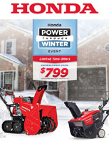 2019 Honda Winter Sales Event