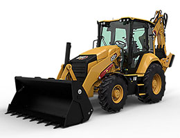 Cat Backhoe Loaders Rental