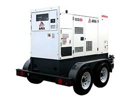 Diesel Generators (10 - 50 kW) Rental