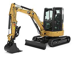 Cat Mini Hydraulic Excavators Rental