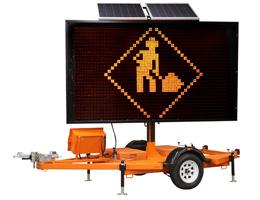 Panneaux d'affichage routier à 3 lignes Rental