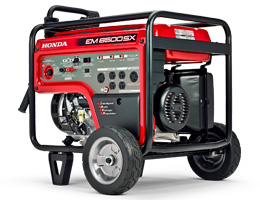 Gas Generators (2 - 50 kW) Rental