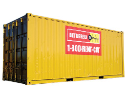 Jobsite Storage Container Rental