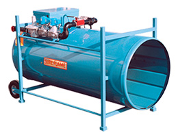 Recirculating Direct Fired Heaters Rental