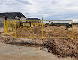 Temporary Fencing (Modu-Loc) Rental