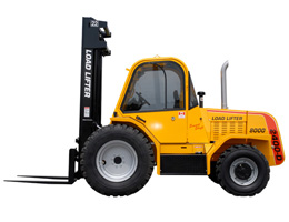 Rough Terrain Forklifts Rental