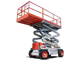 Rough Terrain Scissor Lifts, 27' - 50' Rental